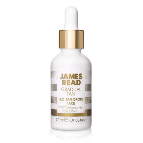 Капли-концентрат для лица с эффектом загара James Read H2O Tan Drops Face
