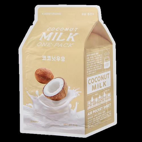 Тканинна зволожуюча маска A`PIEU Coconut Milk One-Pack Moisturizing