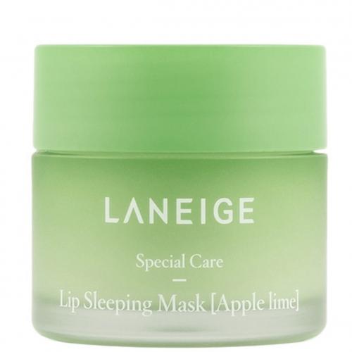 Нічна мacka для губ Яблуко-лайм Laneige Sleeping Mask Apple