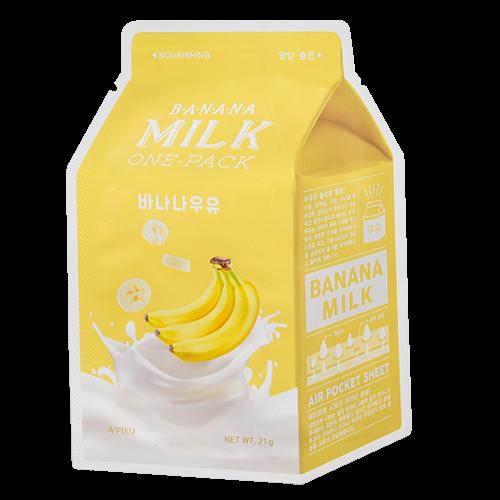 Живильна тканинна маска A`PIEU Banana Milk One-Pack Nourishing