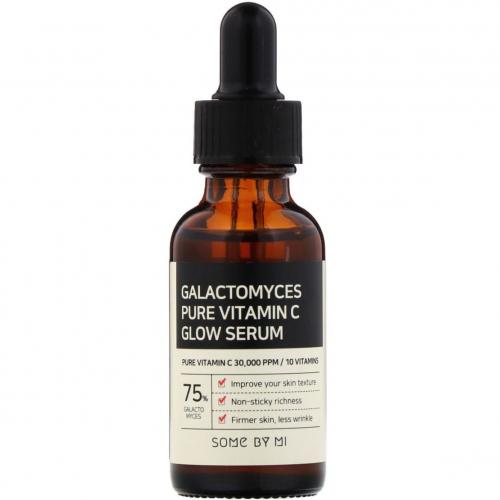 Освітлююча сироватка з вітаміном С Some By Mi Galacyomyces Pure Vitamin C Glow Serum