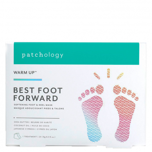 Питательная маска для ног Patchology Best Foot Forward Softening Heel and Foot Mask