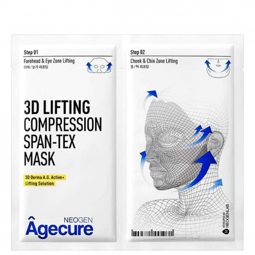 Тканевая лифтинг-маска для лица Neogen Agecure 3D Lifting Compression Span-Tex Mask