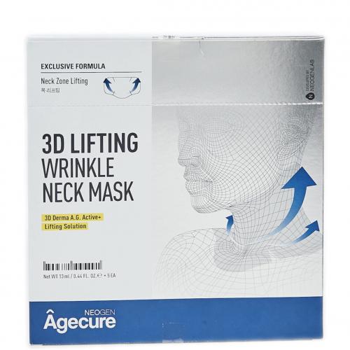 Ліфтинг-маска для шиї Neogen Agecure 3D Lifting Wrinkle Neck Mask