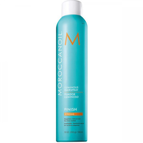 Лак для волосся сильної фіксації Moroccanoil Luminous Finish Strong Hairspray