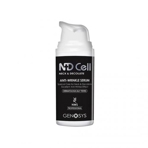 Сироватка для області шиї і декольте Genosys ND Cell Anti-Wrinkle Serum