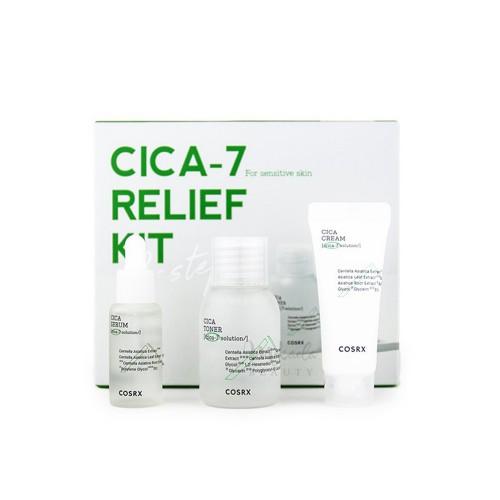 Набір відновлюючих засобів для чутливої шкіри Cosrx CICA-7 Relief Kit