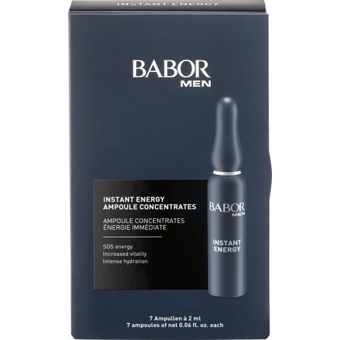 Ампулы для мужчин Babor Men Instant Energy Ampoule Concentrates