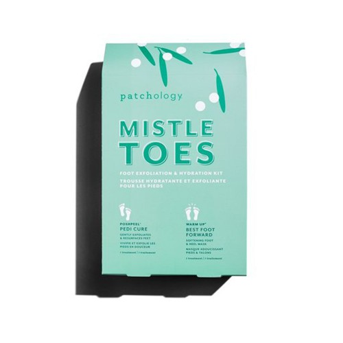 Увлажняющий набор для стоп Patchology MistleToes: Foot Exfoliation & Hydration Kit