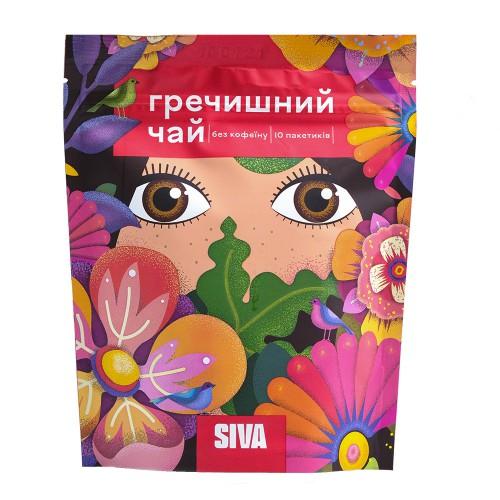 Гречаний чай в пакетиках Siva