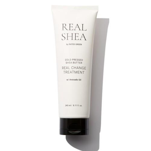 Поживна маска для волосся з маслом ши Rated Green Real Shea Real Change Treatment