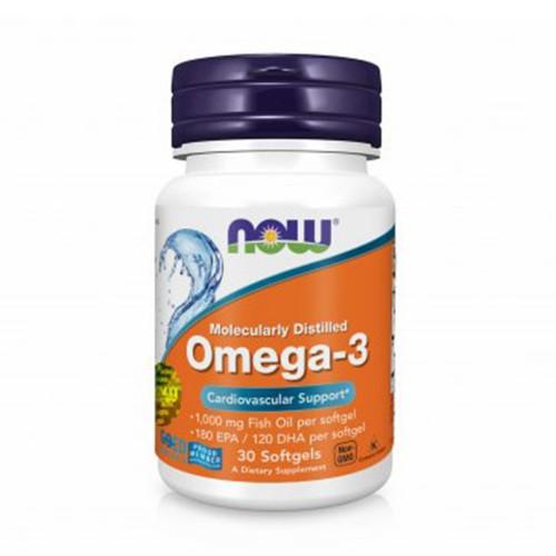 Вітаміни Омега-3 в м'яких капсулах Now Foods Omega-3 1000