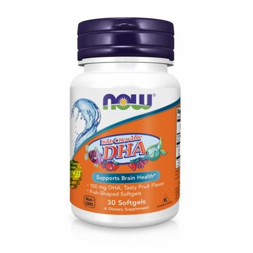 """Вітаміни """"Омега"""" для дітей з фруктовим смаком Now Foods Omega Kids DHA"""