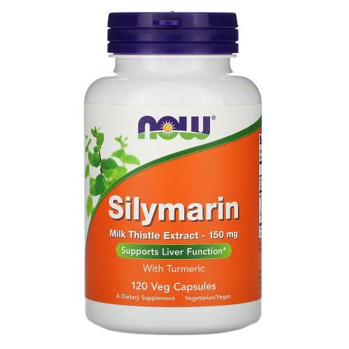 Гепатопротектор в капсулах Now Foods Silymarin 150
