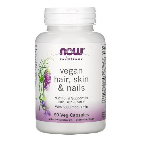 Вітаміни для шкіри, волосся і нігтів Now Foods Vegan Hair, Skin & Nails
