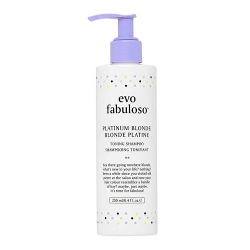 Тонирующий шампунь Evo Fabuloso Platinum Blonde Toning Shampoo