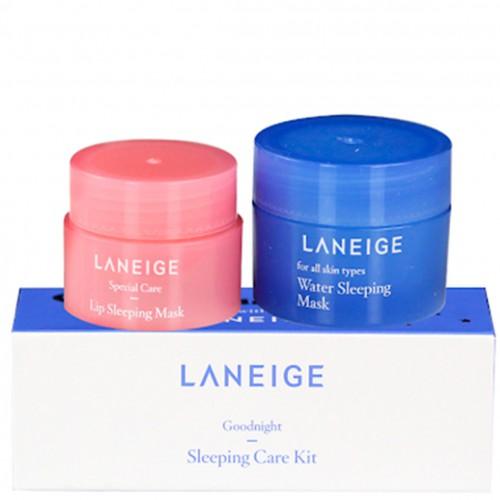 Набор ночных масок для лица и губ Laneige Goodnight Sleeping Care