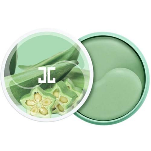 Укрепляющие гидрогелевые патчи JayJun Okra Green Eye Gel Patch