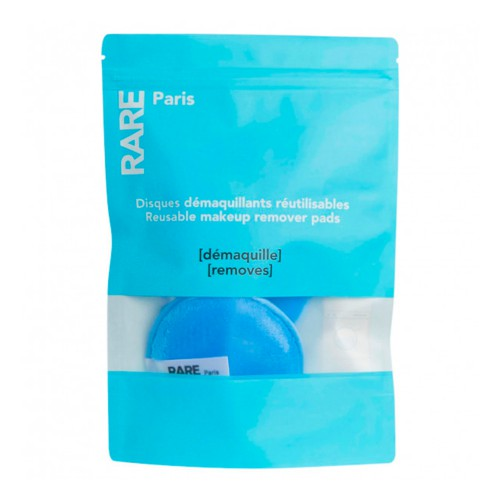 Багаторазові диски для зняття макіяжу Rare Paris Carbone Glace Reusable Makeup Remover Pads