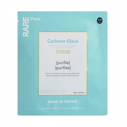 Очищающая тканевая маска Rare Paris Carbone Glace