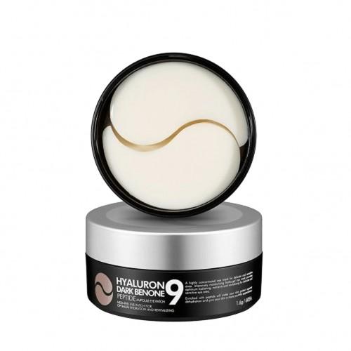 Відновлюючі патчі з комплексом пептидів Medi-Peel Hyaluron Dark Benone Peptide Eye Patch